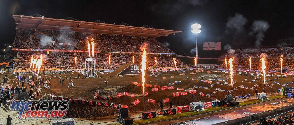 AUS X Open International Supercross FIM Oceania Championship SX Atmosphere