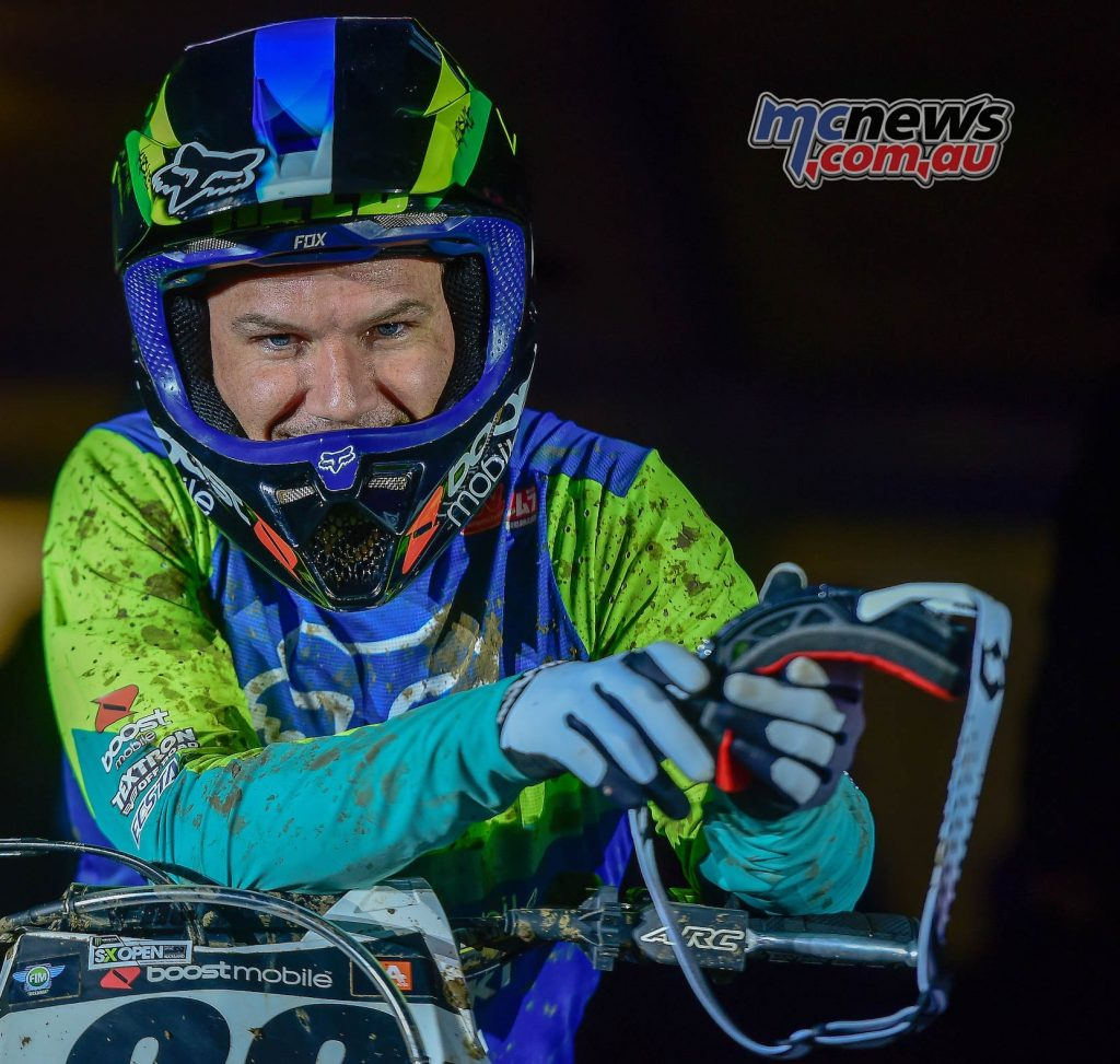 AUS X Open International Supercross FIM Oceania Championship SX Chad Reed