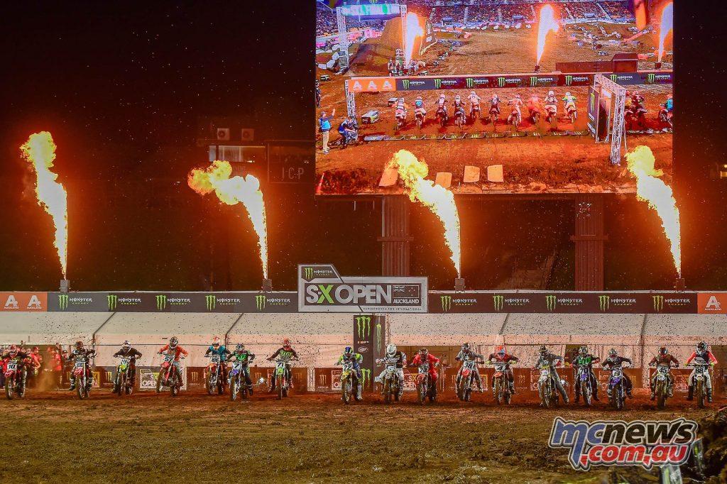 AUS X Open International Supercross FIM Oceania Championship SX Start