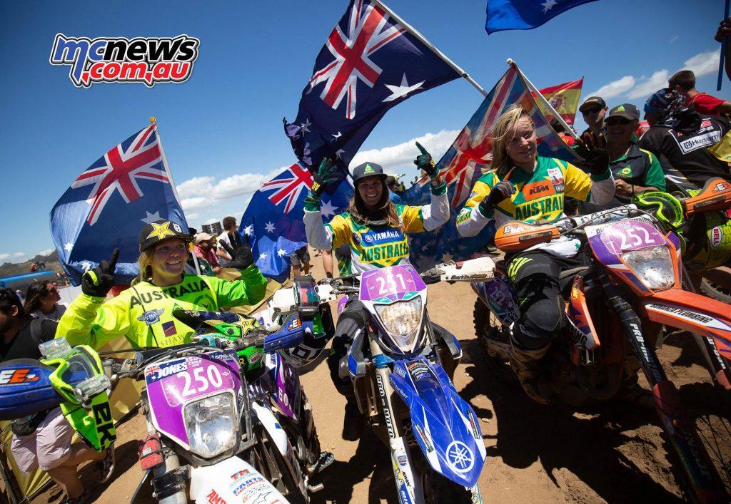 ISDE Womens Australia Flag ImageJohnPearson