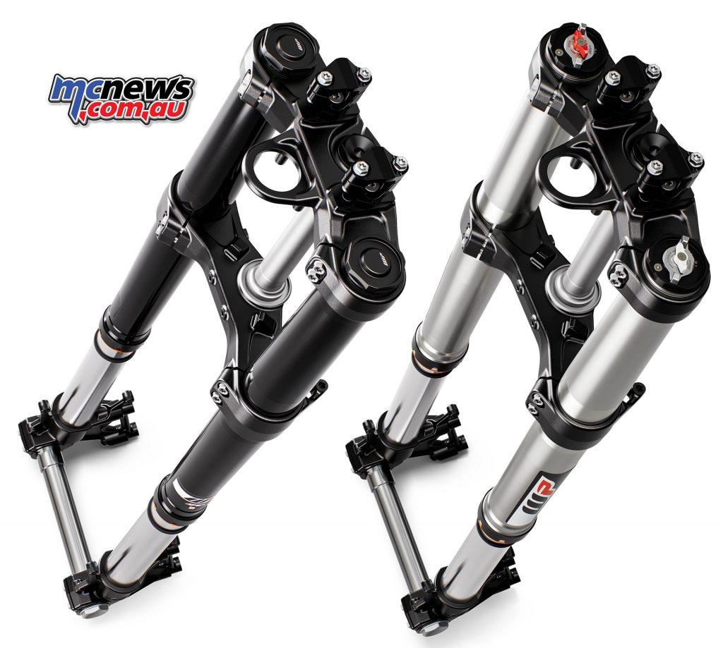 KTM Adventure Forks Compare