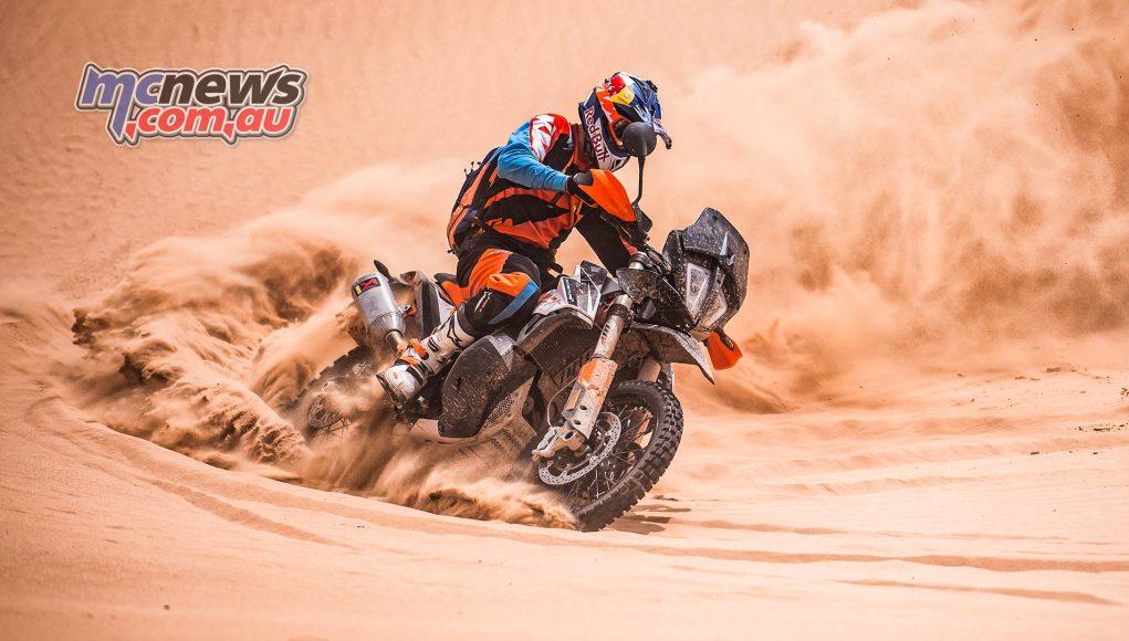 KTM Adventure R Action