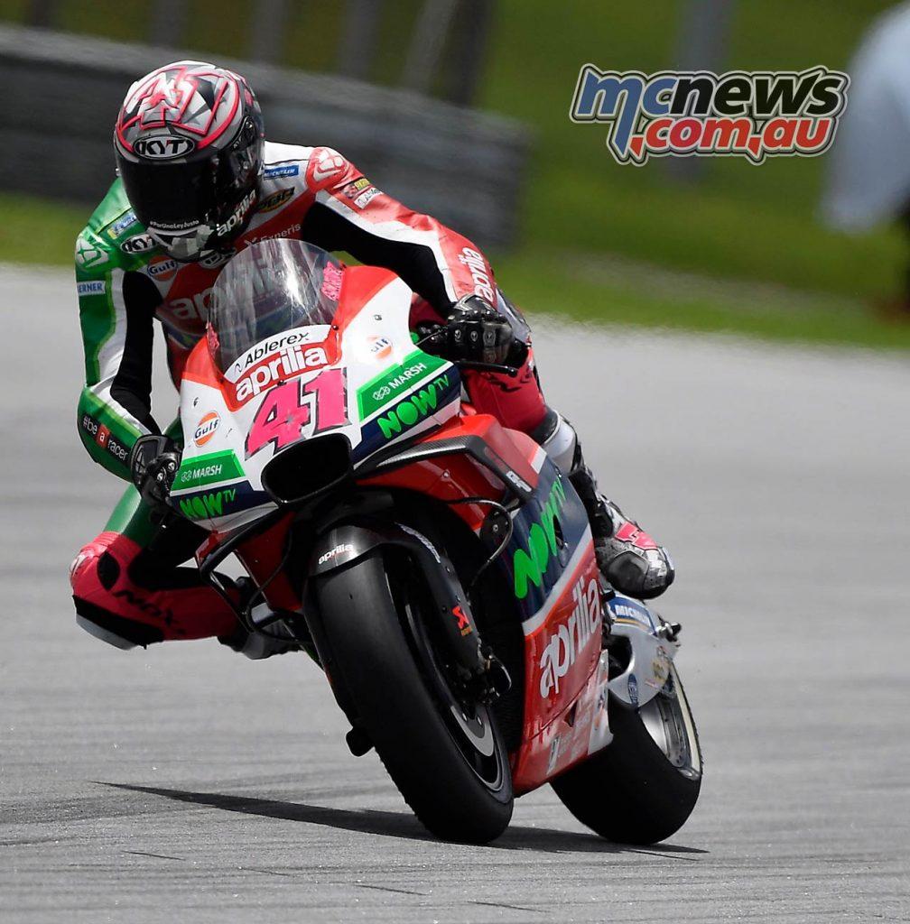 MotoGP Malaysia Race Aleix Espargaro