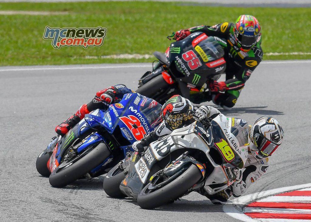 MotoGP Malaysia Race Bautista