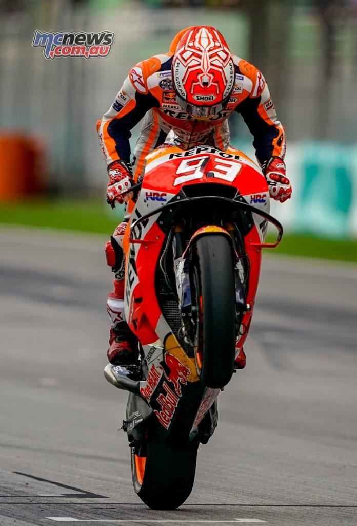 MotoGP Malaysia Race Marquez