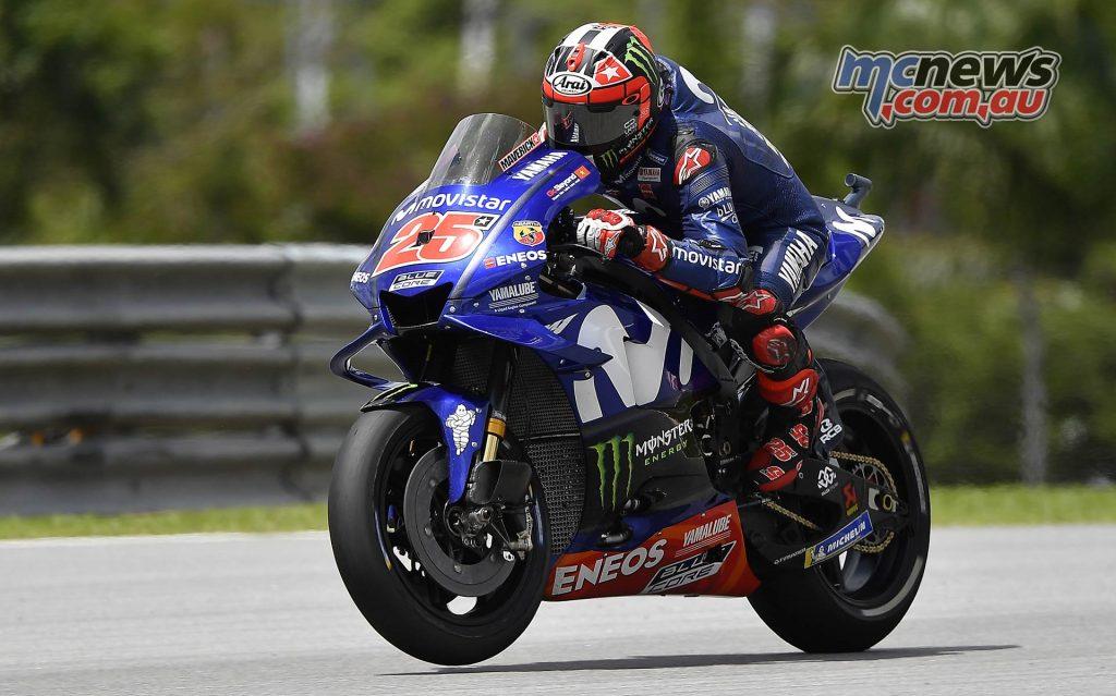 MotoGP Malaysia Race Vinales