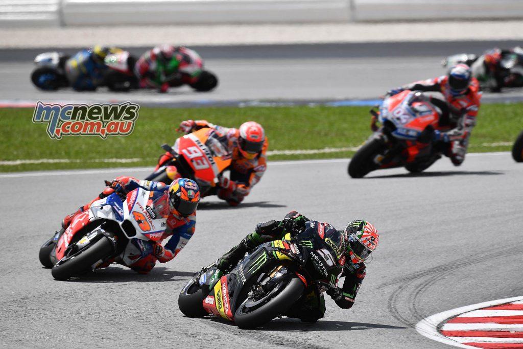 MotoGP Malaysia Race Zarco Miller