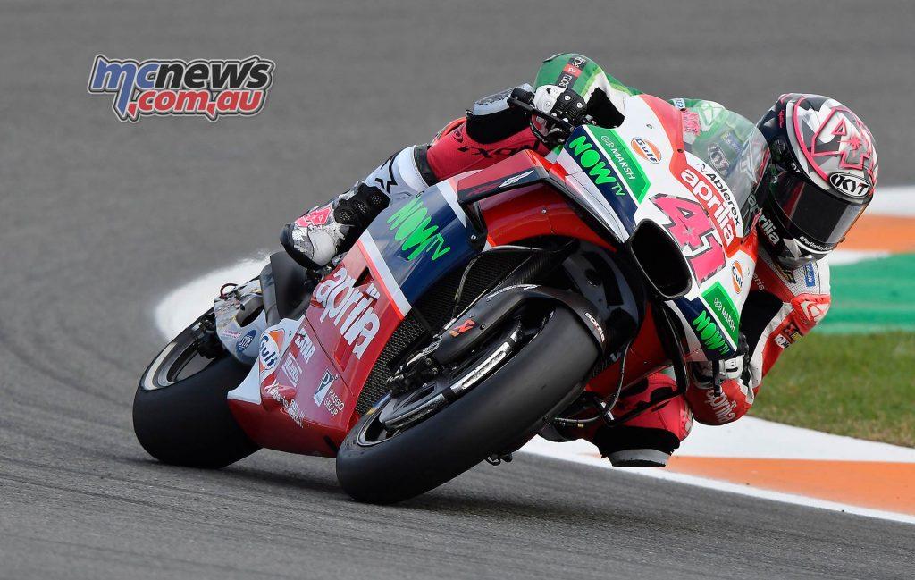 MotoGP Valencia Day Aleix Espargaro
