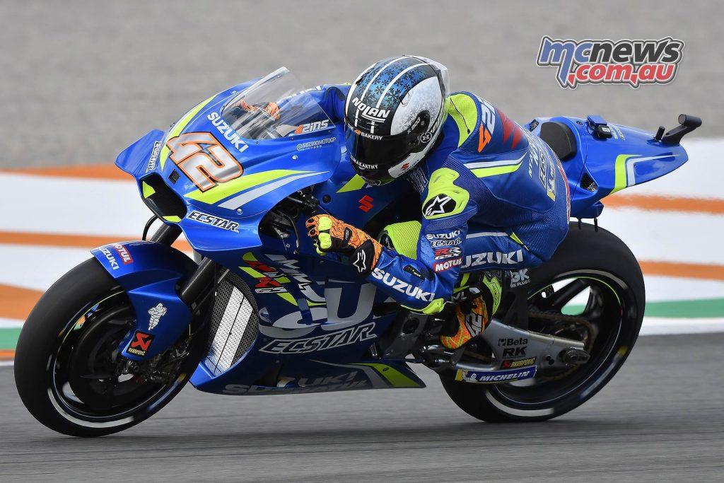 MotoGP Valencia Day Alex Rins