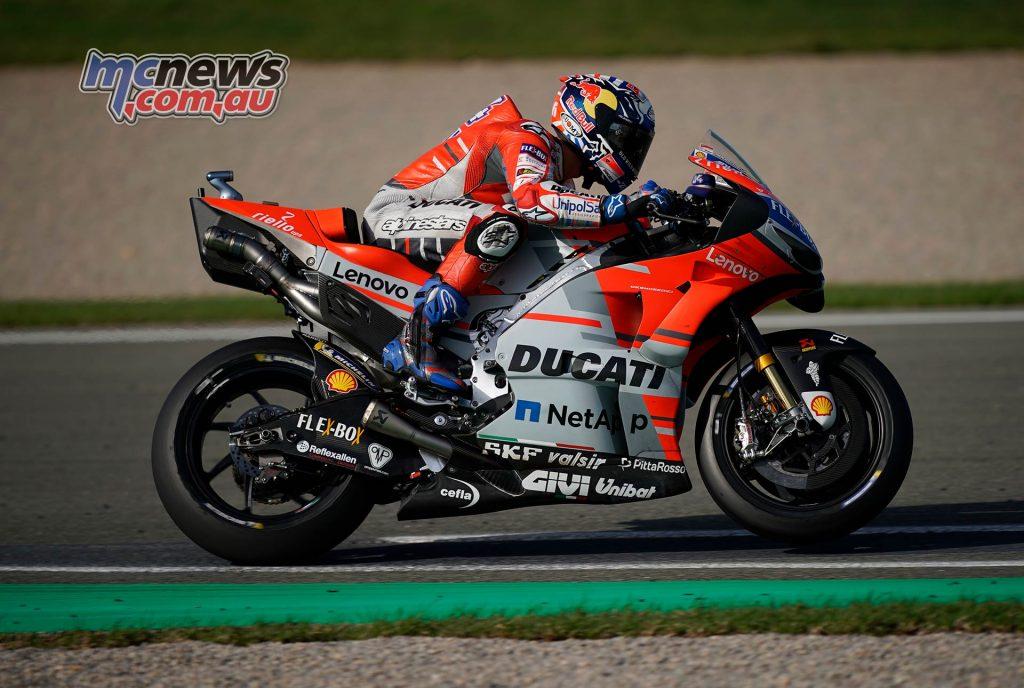 MotoGP Valencia Day Andrea Dovizioso
