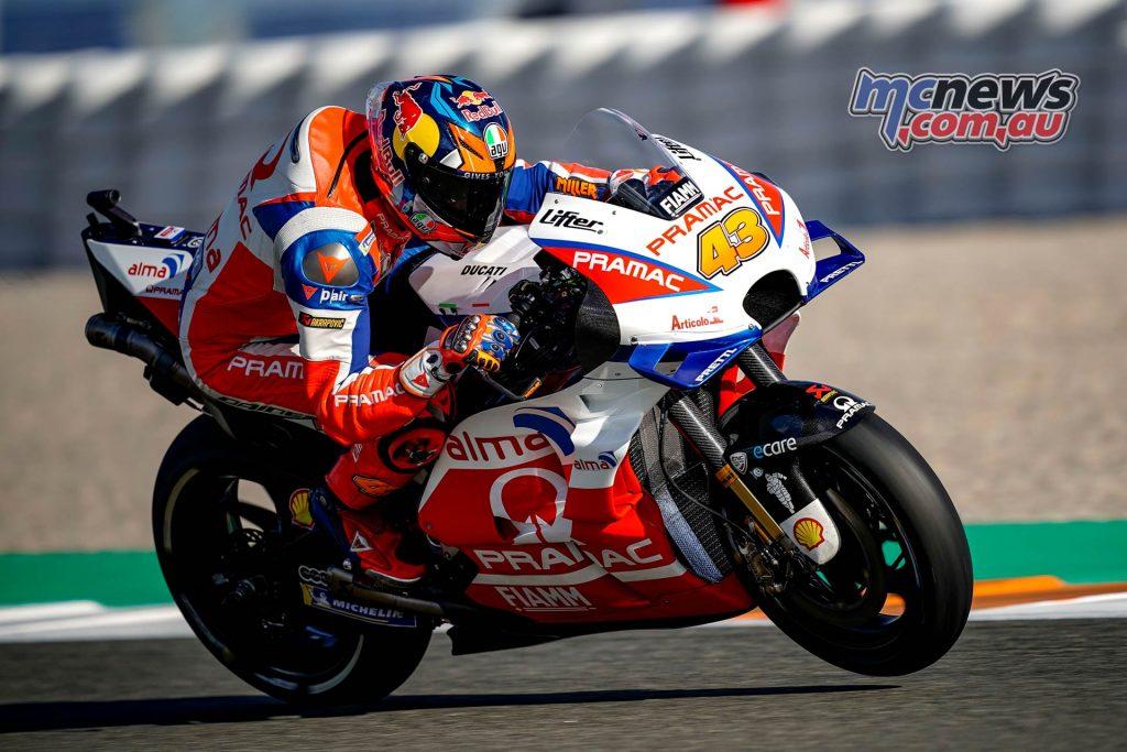 MotoGP Valencia Day Jack Miller