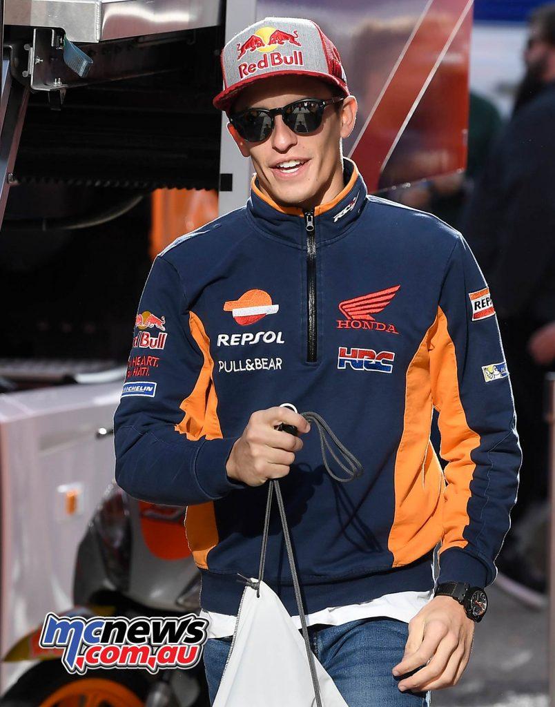 MotoGP Valencia Day Marc Marquez