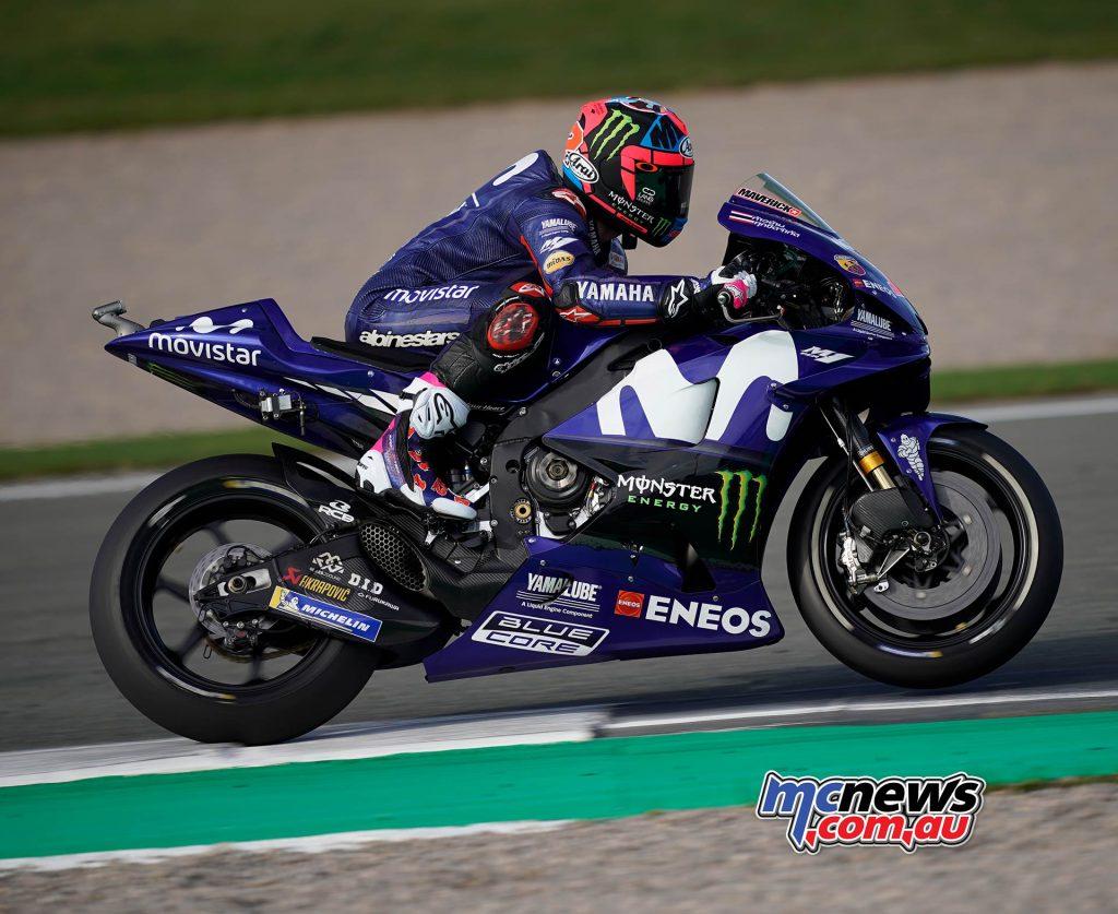 MotoGP Valencia Day Maverick Vinales