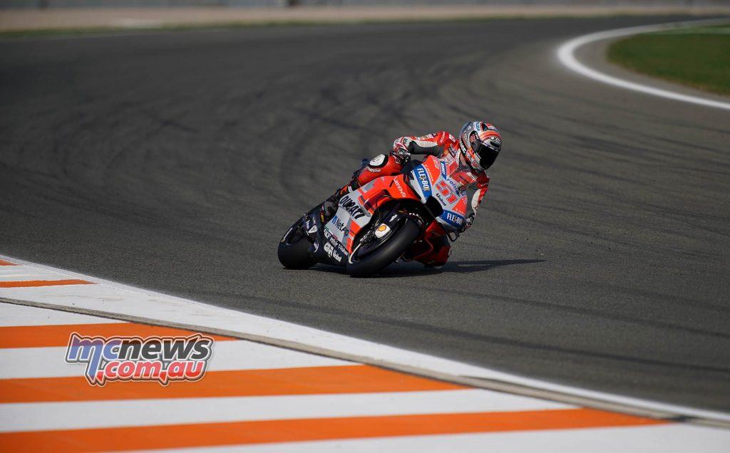 MotoGP Valencia Day Michele Pirro