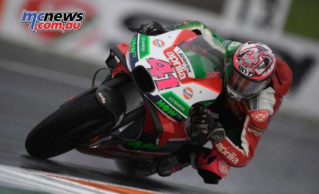 MotoGP Valencia Fri Aleix Espargaro