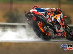 MotoGP Valencia Fri Marc Marquez