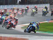 MotoGP Valencia Michelin Start