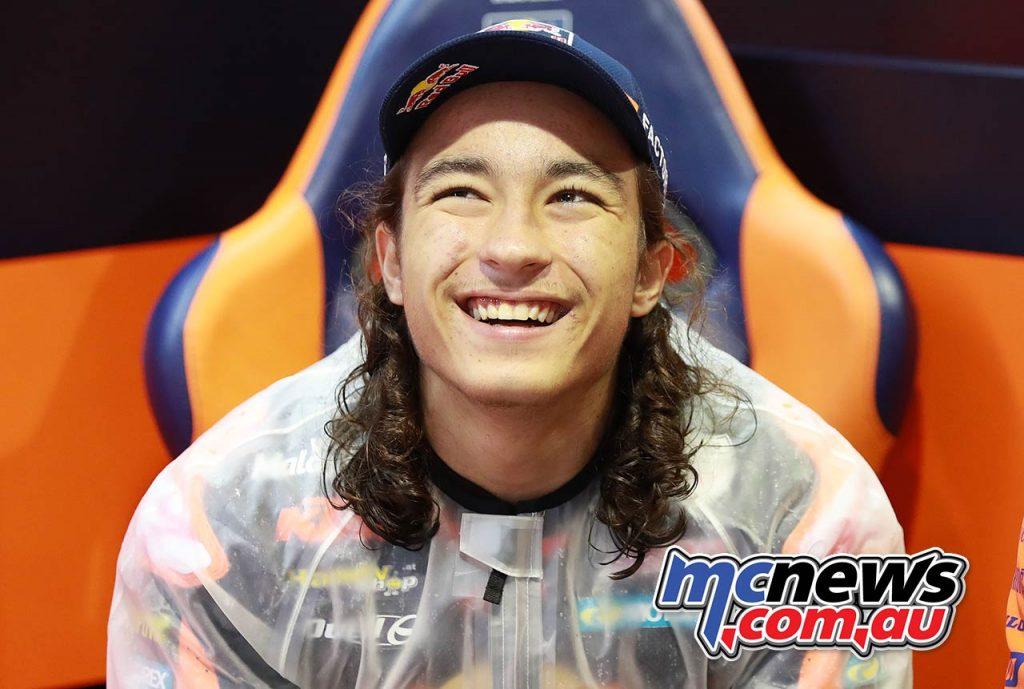 MotoGP Valencia Moto Can Oncu