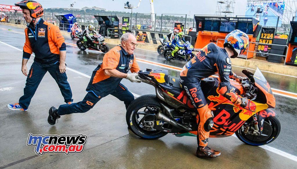 MotoGP Valencia Start Sparrow Pol