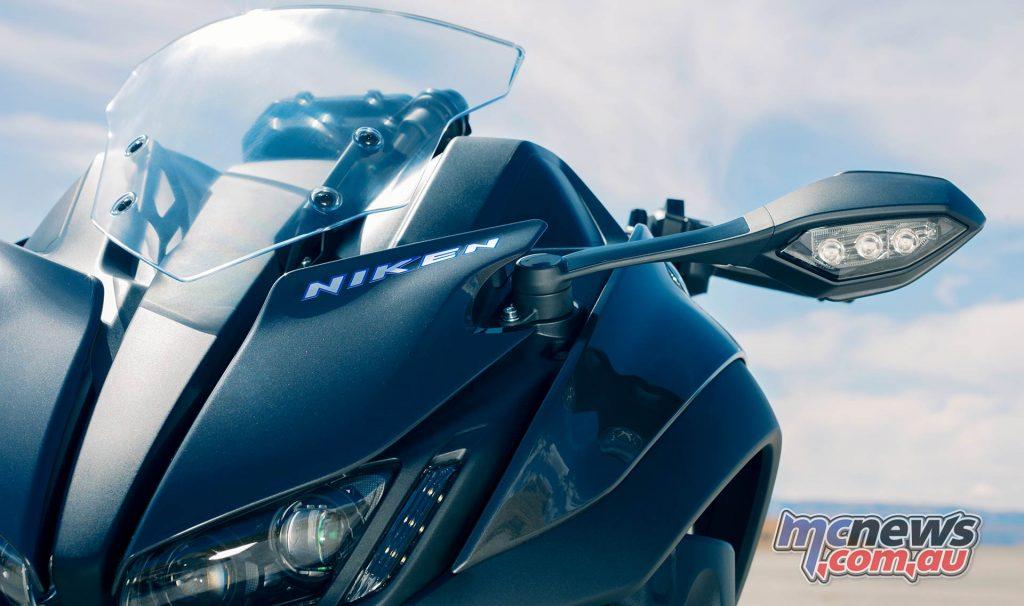 Yamaha Niken Lights Mirrors