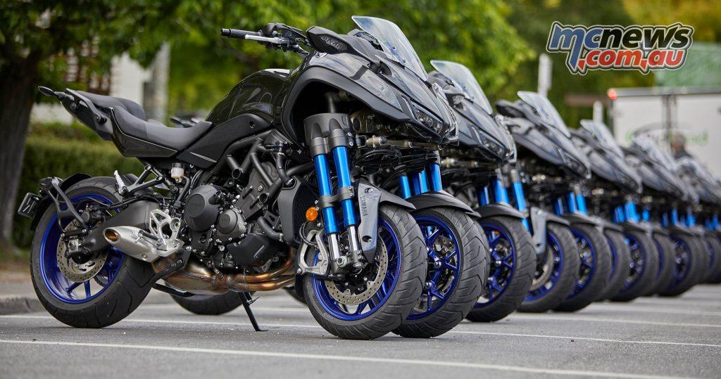Yamaha Niken RHS