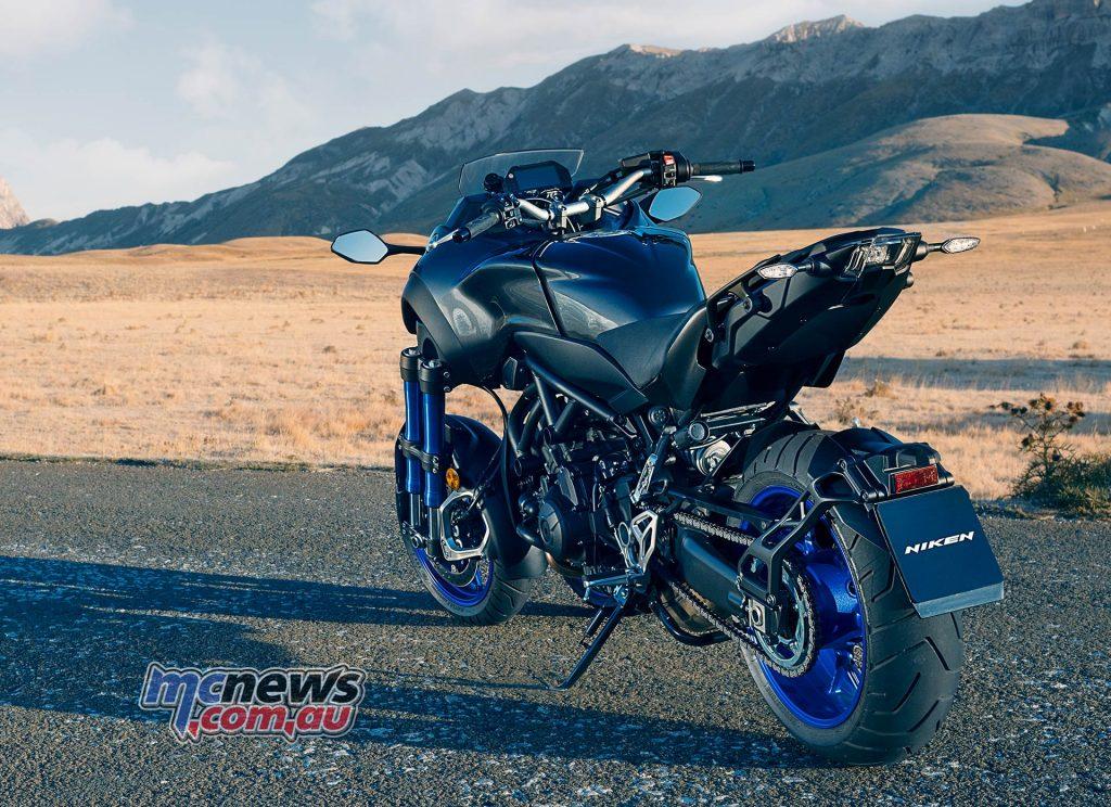 Yamaha Niken Rear