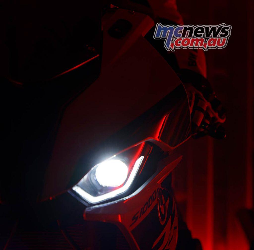 BMW S RR Lights Glow