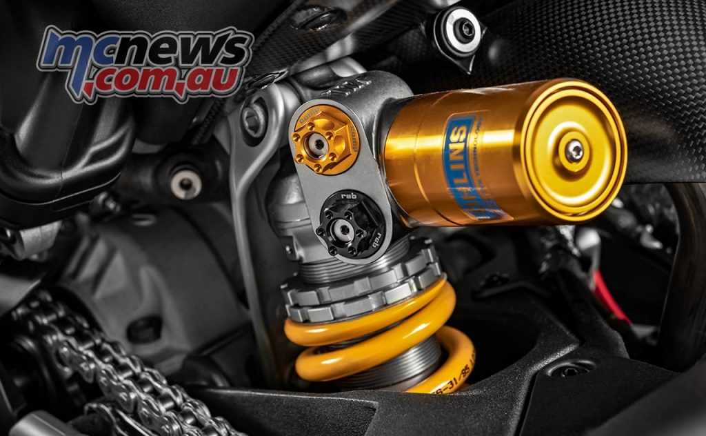Ducati Panigale VR Controls Shock
