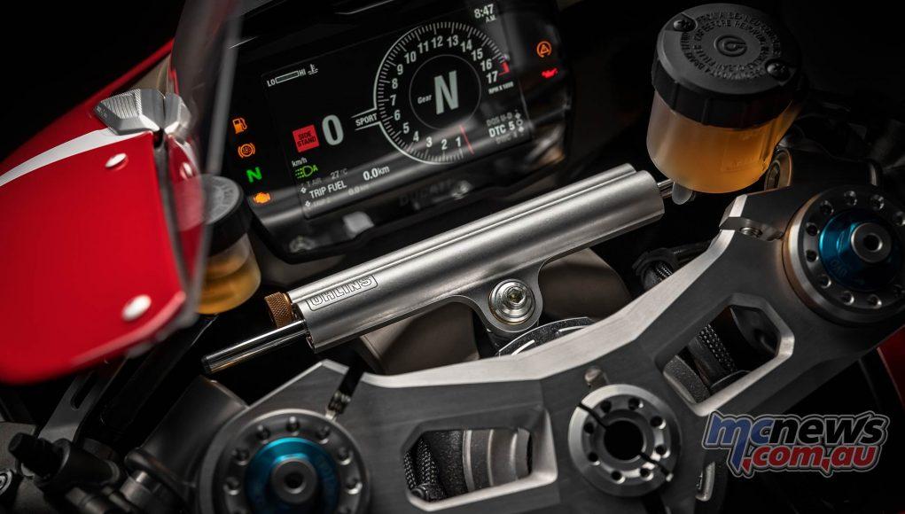 Ducati Panigale VR Dash