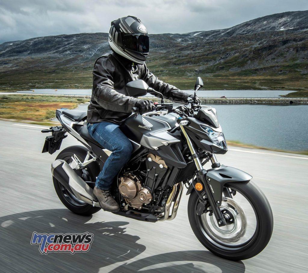 2019 Honda CB500F Updated