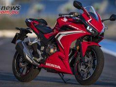 Honda CBRR Scene