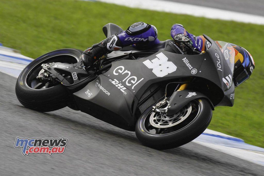 Moto Test Jerez Day Bradley Smith