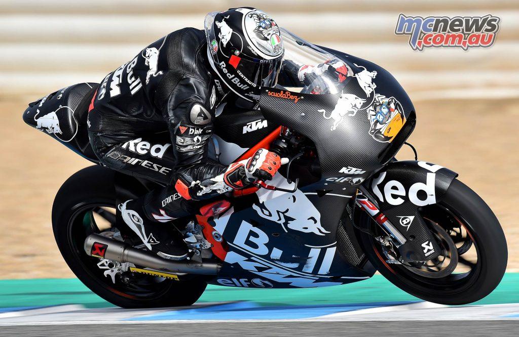 Moto Test Jerez Day Marco Bezzecchi