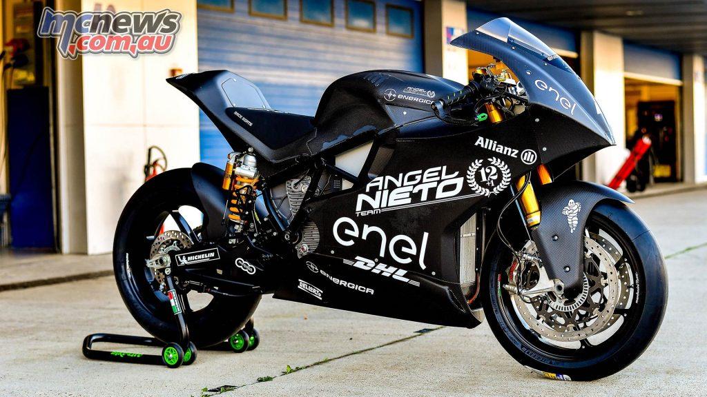MotoE Test Jerez Day Enerigca Angel Nieto