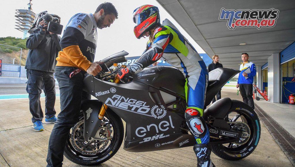 MotoE Test Jerez Day MariaHerrera