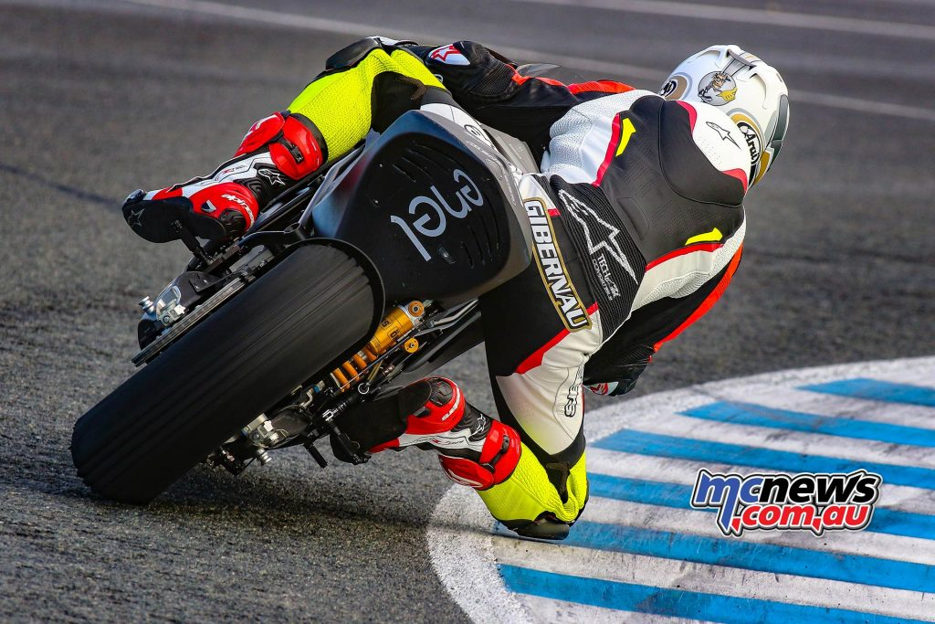 MotoE Test Jerez Day Sete Gibernau