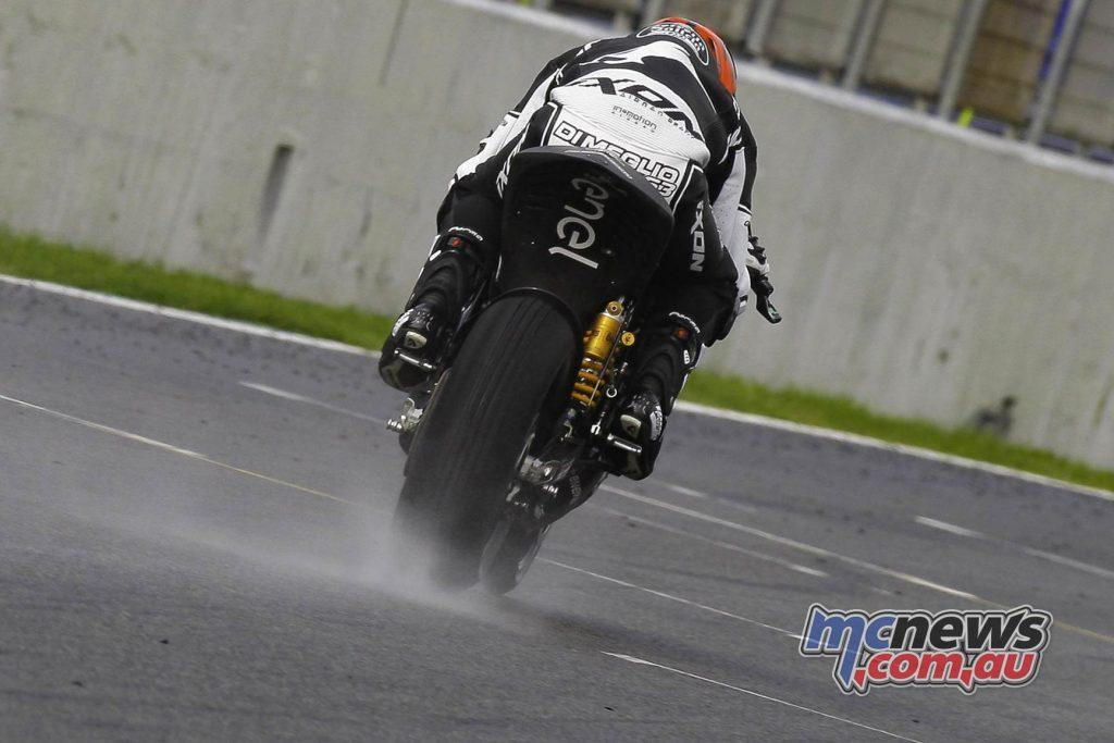 MotoE Test Jerez Day Mike DiMeglio