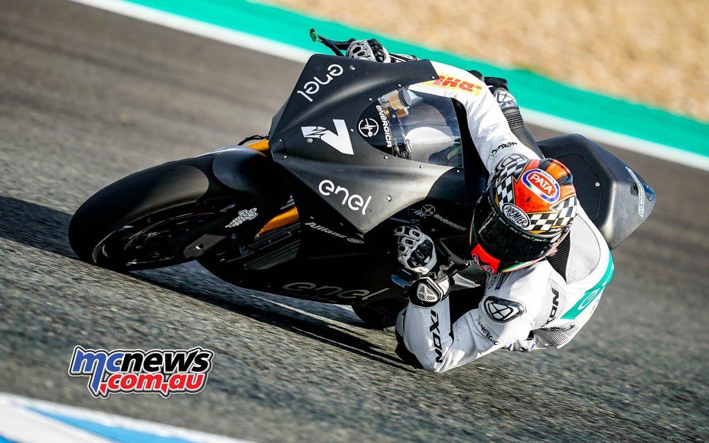 MotoE Test Jerez Day Niccolo Canepa