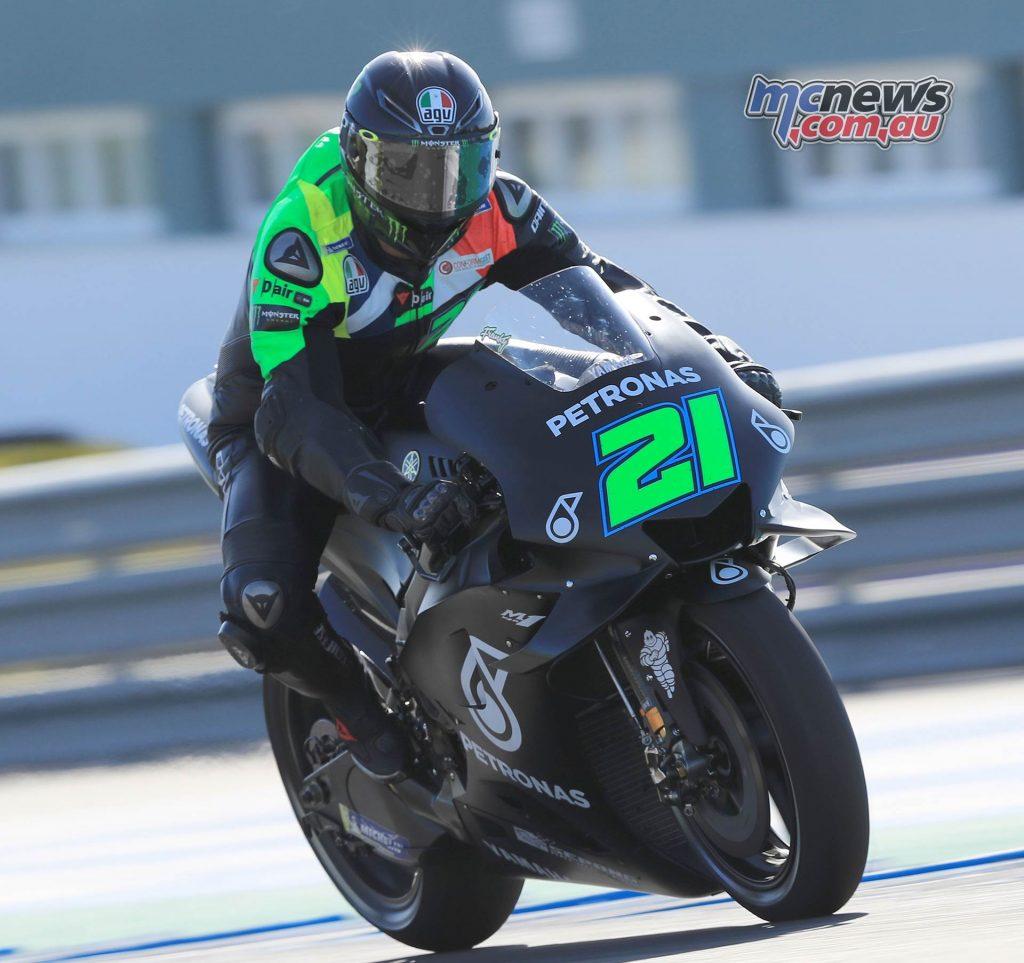 MotoGP Test Jerez Nov Day Franco Morbidelli