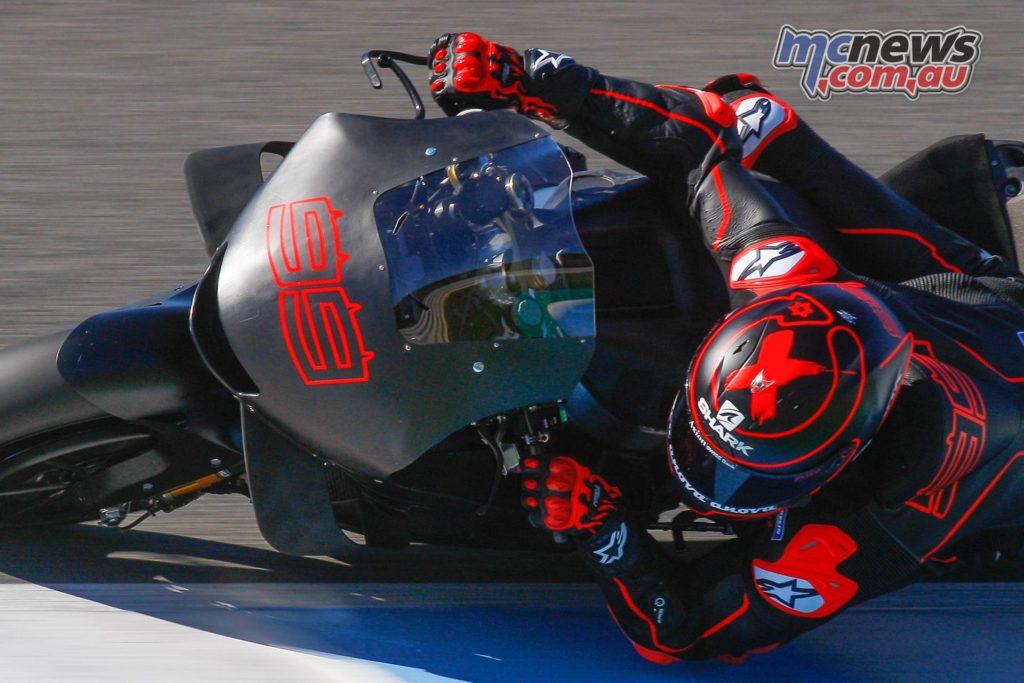 MotoGP Test Jerez Nov Day Jorge Lorenzo