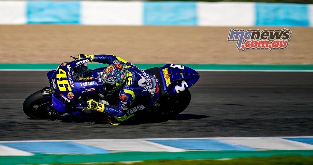 MotoGP Test Jerez Nov Day Valentino Ross
