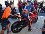 MotoGP Valencia Test Johann Zarco GPT AN