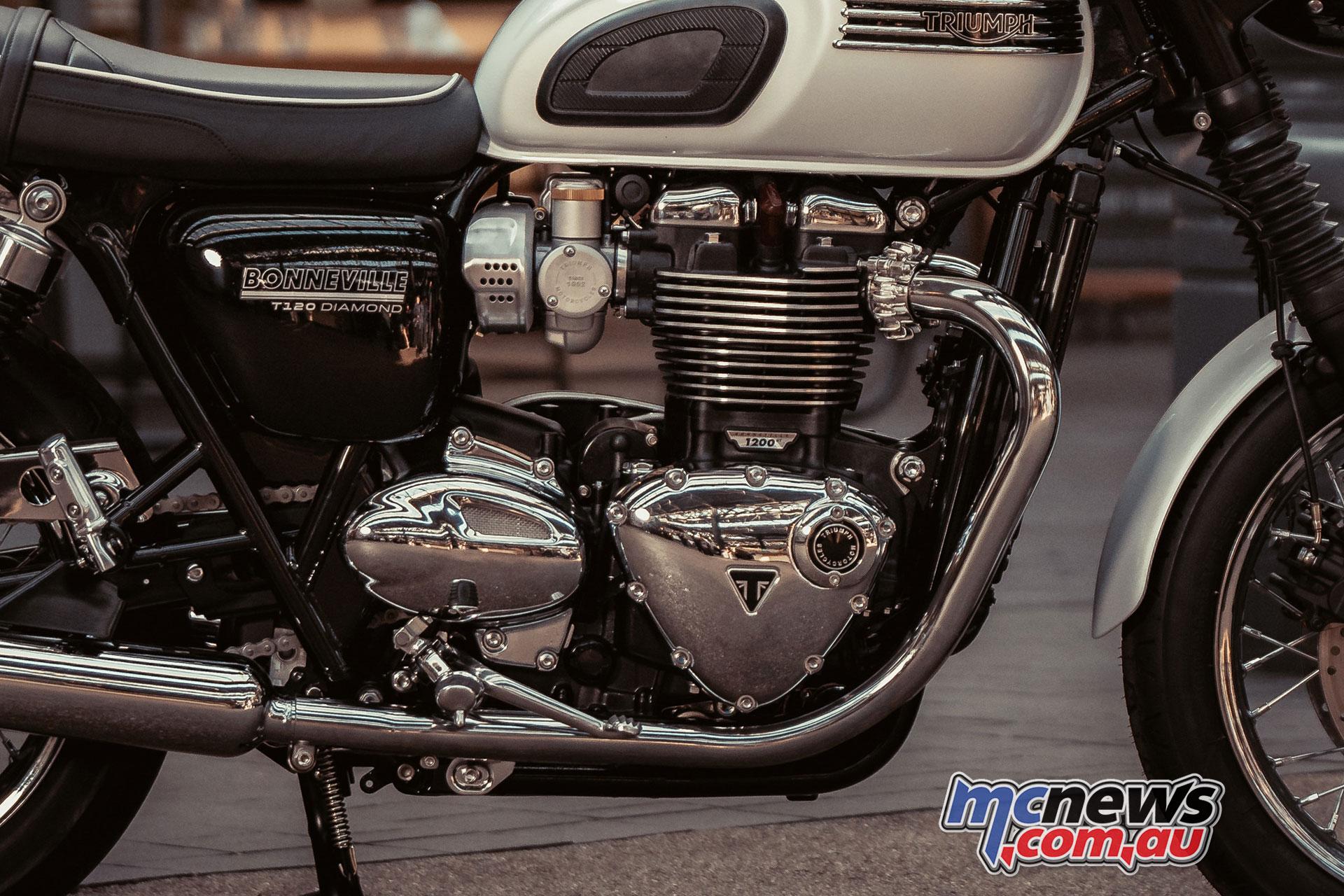 2019 Triumph Bonneville T120 Diamond Edition Mcnews Com Au