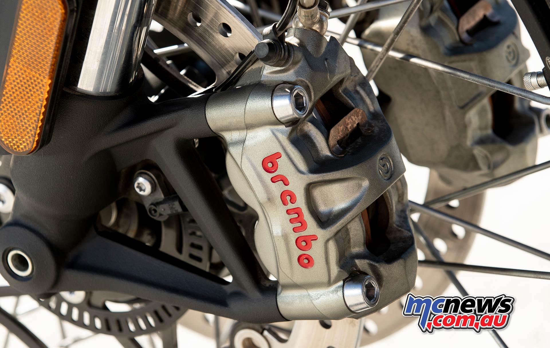 Triumph Scrambler XC Brakes