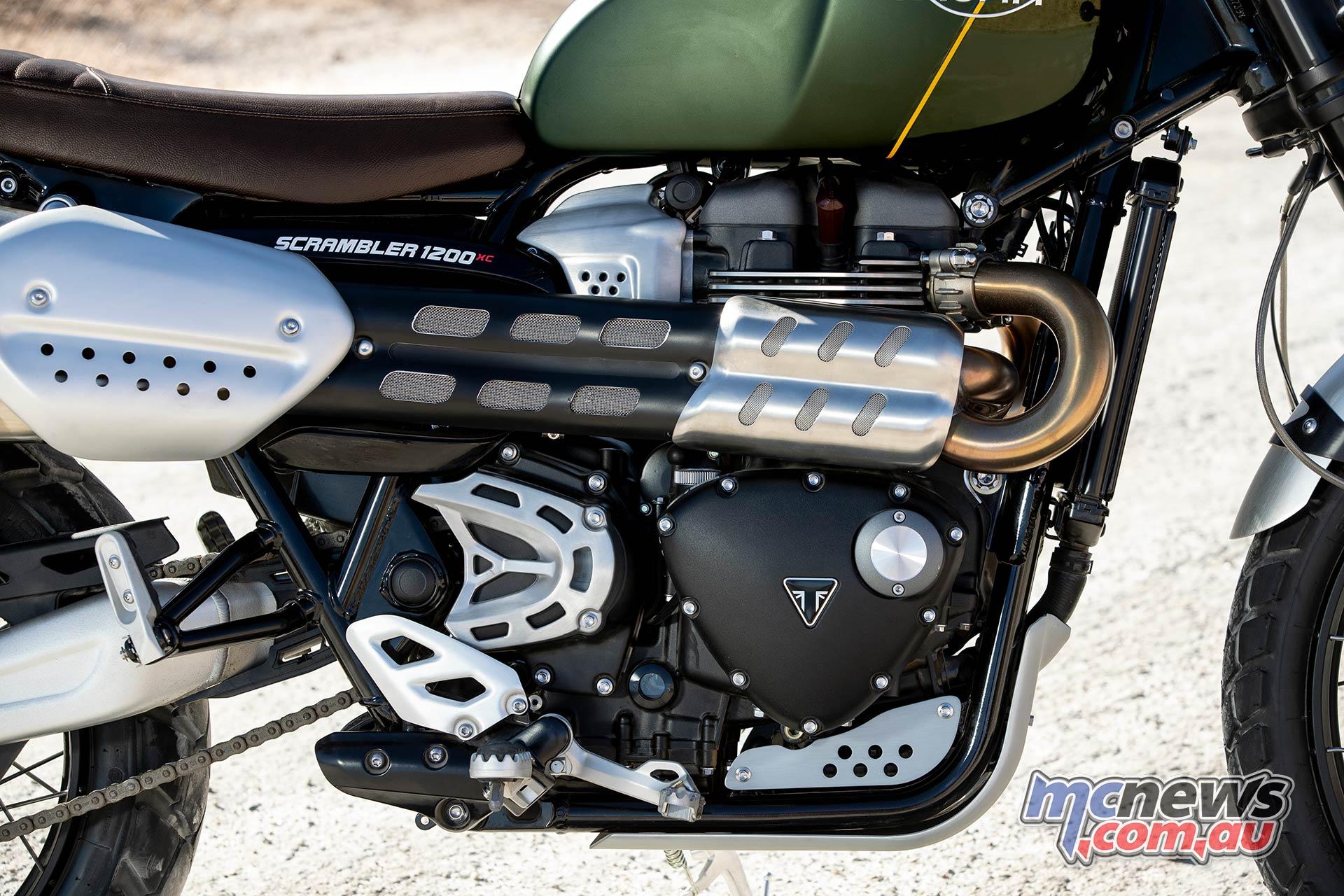 Triumph Scrambler XC Engine