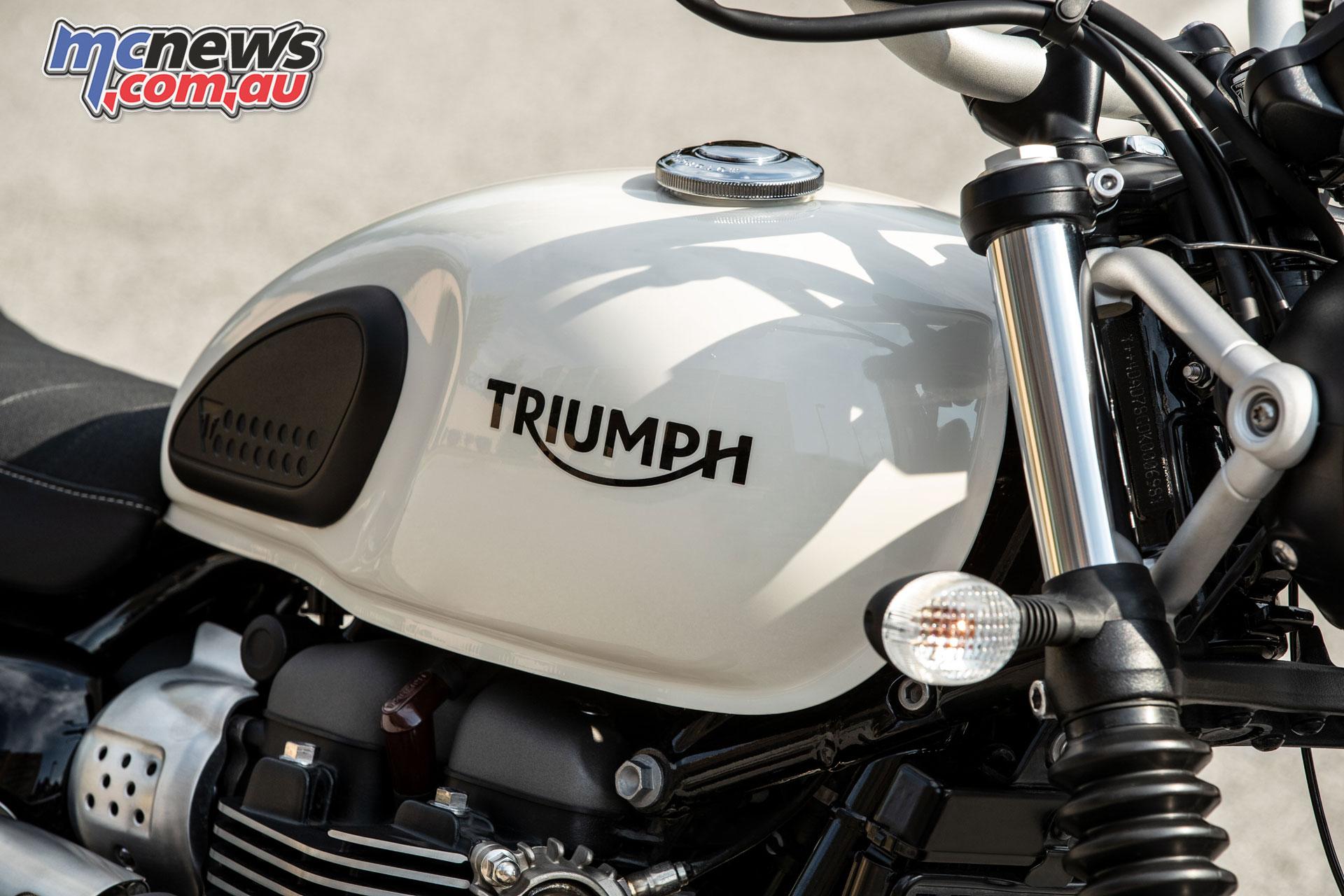 Triumph Street Scrambler Updated Engine Amp Chassis