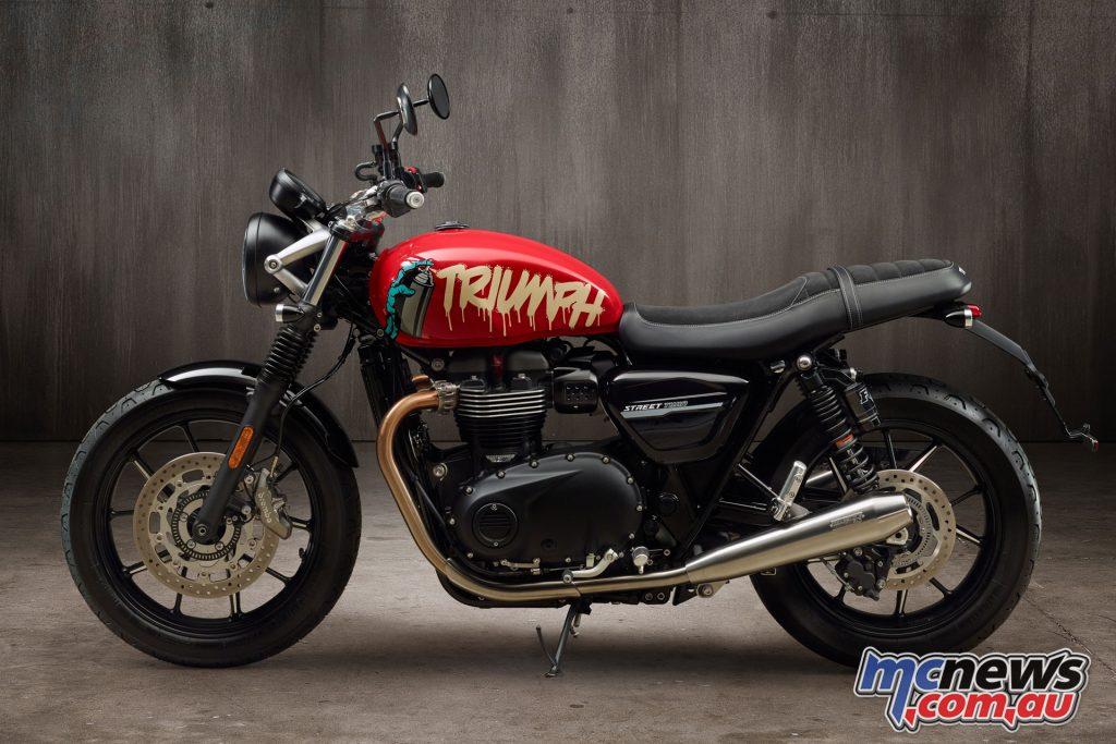 Triumph Street Twin Cafe Custom Kit