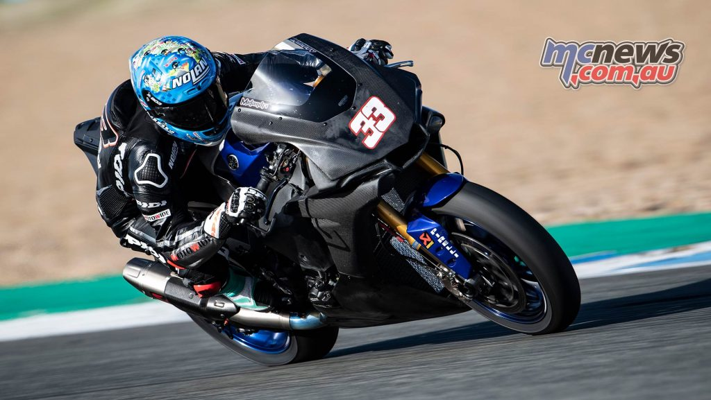 WSBK Test Jerez Nov Day GeeBee Marco Melandri