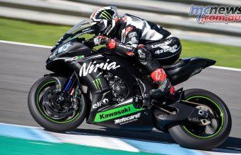 WSBK Test Jerez Nov GeeBee Jonathan Rea