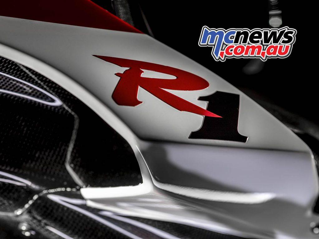 Yamaha YZF R GYTR Special Badge